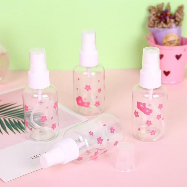 بطری اسپری مایعات گلدار Flower liquid spray bottle