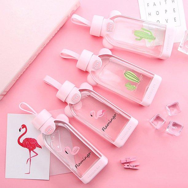 قمقمه فلامینگو و کاکتوس Flamingo and cactus 350 ML water bottle