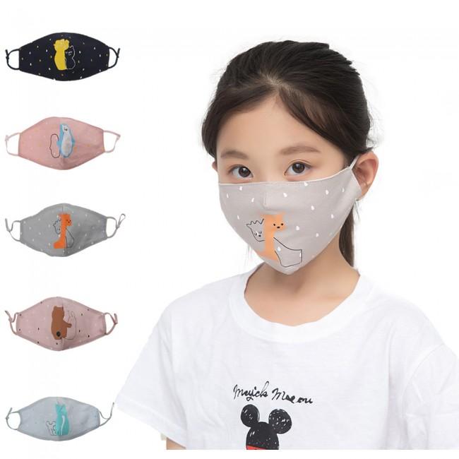 ماسک صورت عروسکی طرح حیوانات