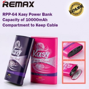 پاوربانک 10000 میلی آمپر ریمکس REMAX Kasy Power Bank 10000mAh RPP-64