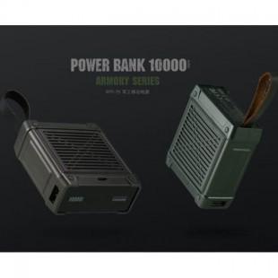 پاوربانک 10000 میلی آمپر ریمکس Remax Armory Series Power Bank 10000mah RPP-79