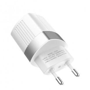 آداپتور دو خروجی فست شارژ هوکو Hoco C55A Energy dual port charger(EU)