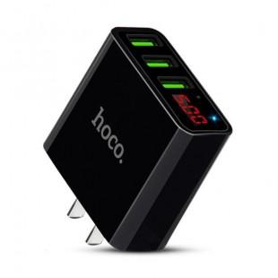 آداپتور سه خروجی فست شارژ هوکو Hoco C15 Superior strength three port charger (3C)