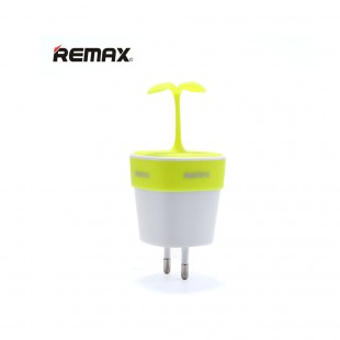 آداپتور Remax RP-U27 Adaptor Cable آداپتور 2 خروجی یو اس بی طرح گل ریمکس