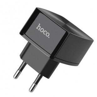 آداپتور شارژ سریع هوکو با کابل میکر Hoco C70A Cutting-edge QC3.0 Micro (EU)