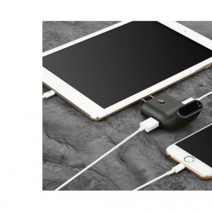 آداپتور Baseus Smarter Travel Charger Stylish Bent Design Dual USB Charger Adaptor