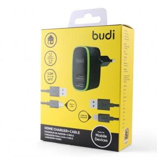 آداپتور Budi Adaptor Cable آداپتور 2 خروجی یو اس بی بادی