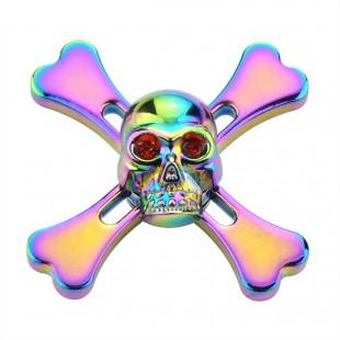 خرید  اسپینر فلزی طرح اسکلتFocus brand  skeleton metal spinner