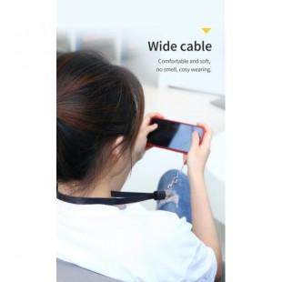 کابل شارژ میکرو 85 سانتی متری توتو TOTU BMA-023 Cloth series hangring rope style cable for Micro