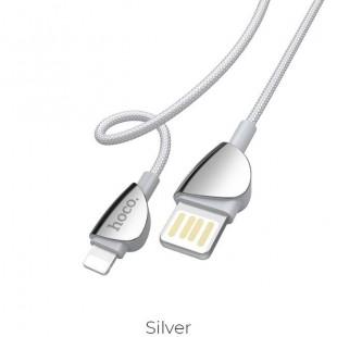 کابل شارژ لایتنینگ 1.2 متری هوکو Hoco U62 Simple charging data cable for Lightning