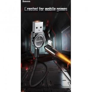 کابل شارژ لایتنینگ سرکج بیسوس Baseus Exciting Game Cable USB For iP 2.4A