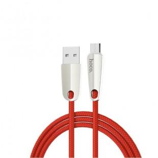 کابل شارژ ميکرو کنفي قطع کن هوکو Hoco U35 Smart Power off Micro Cable