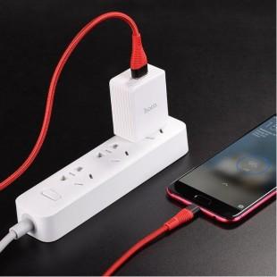 کابل شارژ ميکرو فست شارژ 4 آمپر هوکو Hoco U53 4A Flash Micro Cable