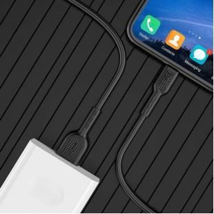 کابل شارژ ميکرو فست شارژ 4 آمپر هوکو Hoco X33 4A Surge Flash Micro Cable