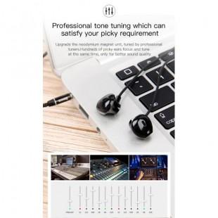 هندزفری سیم دار بیسوس Baseus Encok H06 Side-in-ear Earphone 6D Stereo Earbuds