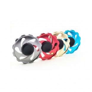 اسپینر فلزی Metal Circle Fire Fidget Spinner - اسپینر فلزی دایره ای طرح آتش