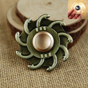 اسپینر فلزی Focus Fidget Spinner اسپینر فلزی 9 پر طرح ماهی
