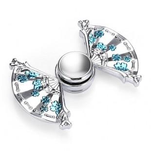 اسپینر فلزی اسپینر فلزی طرح باد بزن چینی - Metal China Hand Fan Fidget Spinner