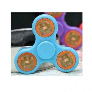اسپینر پلاستیکی LED Fidget Spinner - اسپینر چراغ دار رنگی