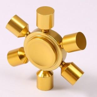 اسپینر فلزی شش پره با قابلیت کم کردن پره ها - Fidget Spinner