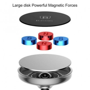 هولدر موبایل مگنتی بیسوس Baseus Bullet An on-board Magnetic Bracket