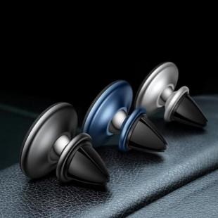 هولدر موبایل مگنتی دریچه کولر بیسوس Baseus Star Ring Magnetic Car Bracket