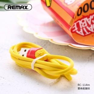 کابل شارژ میکرو(اندروید) ریمکس Remax CHIPS Data Cable RC-114