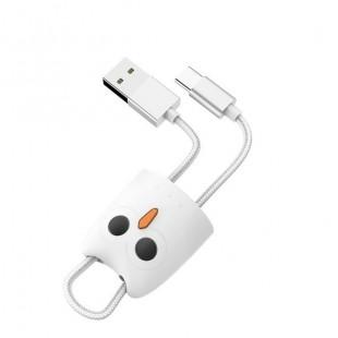 کابل شارژ تایپ سی هوکو HOCO Type-C silicone case charging