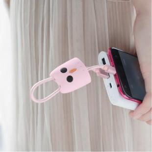 کابل شارژ میکرو هوکو HOCO Micro USB Silicone Case Charging