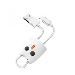 کابل شارژ لایتینگ(آیفون) هوکو HOCO Lightning Silicone Case Charging