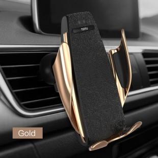 هولدر و شارژر وایرلس توتو TOTU King Wireless Charge Car Holder CACW-029