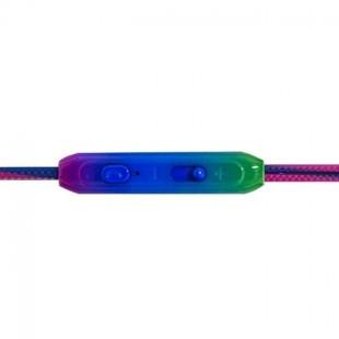 هندزفری رنگین کمانی مدل Rainbow Wire Handsfree T-83
