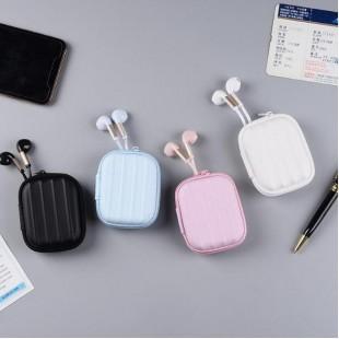 هندزفری فانتزی طرح چمدونی همراه با جعبه نگهدارنده Sibyl E-117 Wired Headset