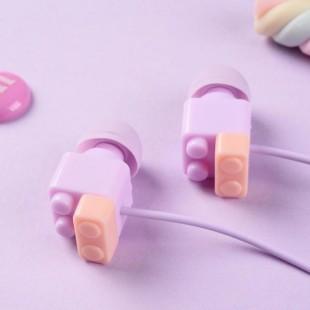 هندزفری فانتزی طرح لگو Sibyl LEGO E-107 Wired Headset