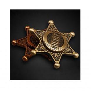 اسپینر اسپینر فلزی طرح کلانتر - Sheriff Metal Fidget Spinner