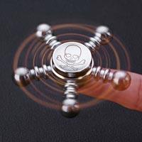 اسپینر اسپینر فلزی طرح سکان کشتی - Metal Luxury Fidget Spinner