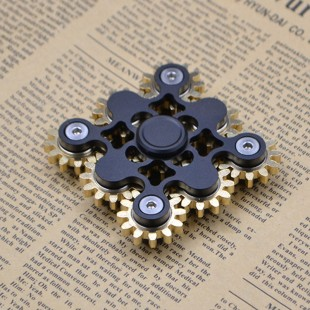 اسپینر اسپینر فلزی لاکچری طرح چرخ دنده - Gear Wheel Metal Fidget Spinner
