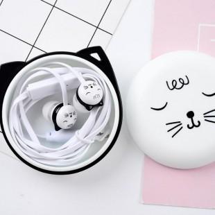 هندزفری فانتزی طرح گربه لاکچری Sibyl E-49 Luxury Cat HandsFree