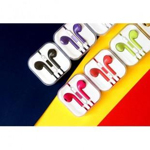 هندزفری رنگی طرح آیفون iPhone Desing Color Handsfree