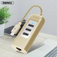 هاب تایپ سی 3 خروجی USB0.2 ریمکس مدل Remax RU-U4