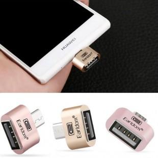 کابل شارژ Earldom Otg او تی جی میکرو USB به USB