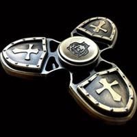 اسپینر  فلزی طرح صلیب - Metal Luxury Fidget Spinner