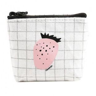 کیف هندزفری مربعی میوه ای Fruit Square KEY Bag