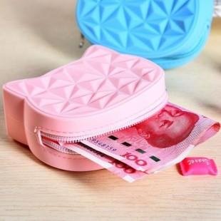 کیف هندزفری سیلیکونی هلوکیتی Hello Kitty Silicon Purse Coin