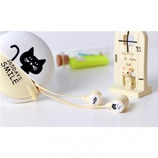 هندزفری فانتزی طرح گربه DiiD ID-65 Cut Cat HandsFree