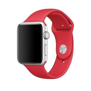 ساعت هوشمند سیلیکونی Band Red Smart Watch Apple Watch 38mm