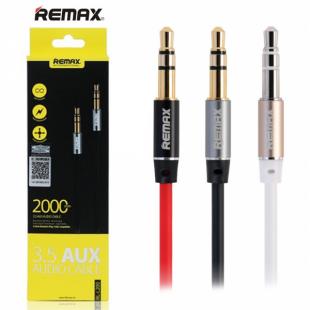 کابل صدا(Aux) دو متری Remax RL-L200 2M Aux Cable