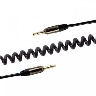 کابل Aux Remax Springy p-9 2m Aux Cable کابل 2 متری Aux فنری ریمکس