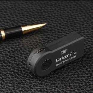بلوتوث هندزفری aux تبدیل ماشین Aux Earlclom M6 Bluetooth Hands-free Car