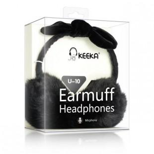 هدفون خزدار با کابل صدا Keeka U-10 Headphone